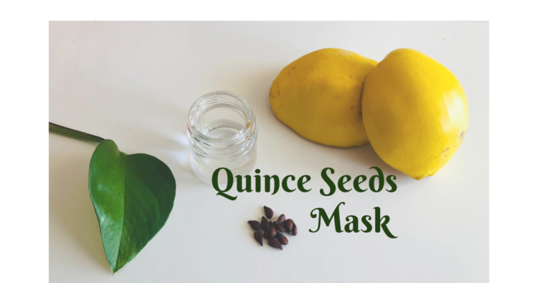 QUINCE SEEDS MASK – NATURAL BEAUTY